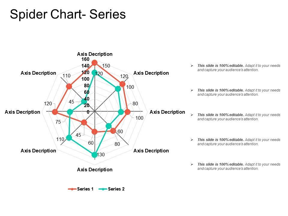 spider diagram template spider chart series powerpoint presentation slides ppt slides  powerpoint presentation slides