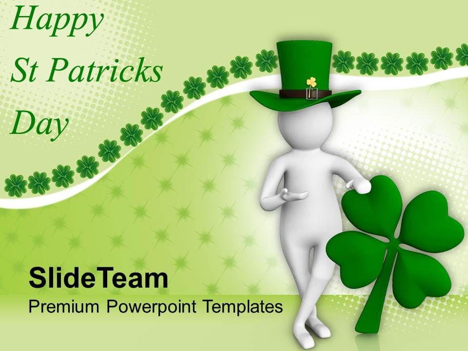st_patricks_day_clover_3d_man_and_leaf_powerpoint_templates_ppt_backgrounds_for_slides_Slide01