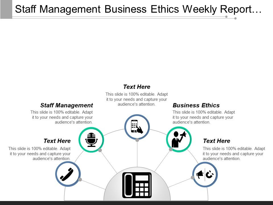 Staff Management Business Ethics Weekly Report Email Sample Cpb