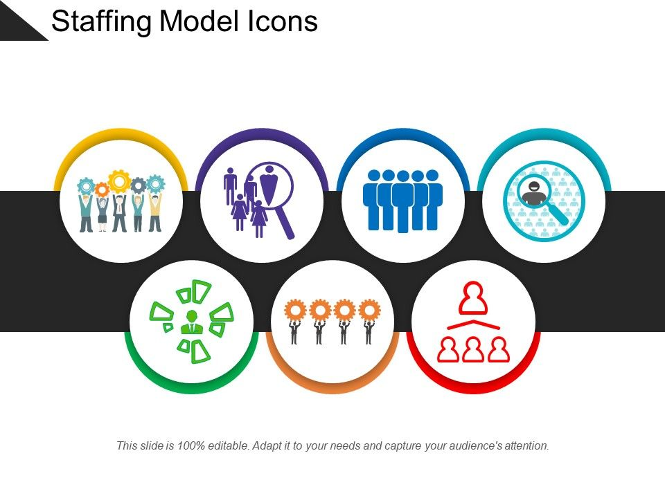 Staffing Model Icons | PowerPoint Presentation Designs