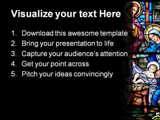 Stained glass religion powerpoint template 0610 powerpoint stained glass religion powerpoint template 0610 presentation themes and graphics slide02 toneelgroepblik Images
