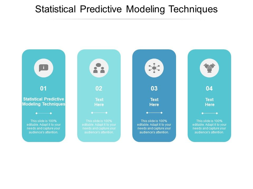 Statistical Predictive Modeling Techniques Ppt Powerpoint Presentation Professional File Formats Cpb
