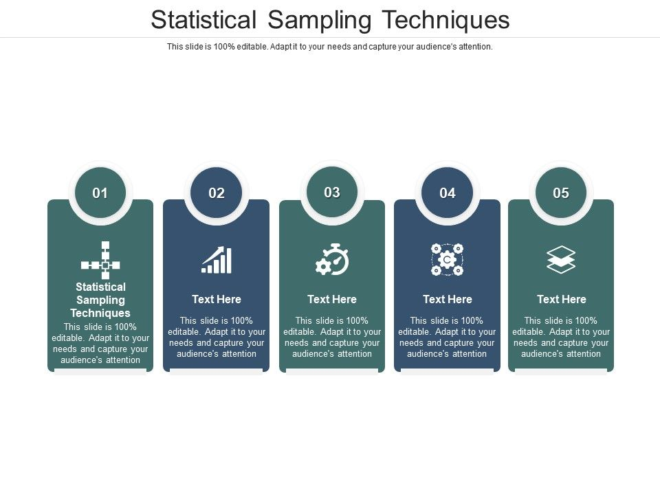 Statistical Sampling Techniques Ppt Powerpoint Presentation Gallery Graphics Cpb