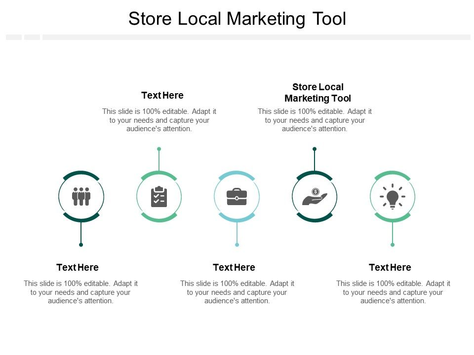 Store Local Marketing Tool Ppt Powerpoint Presentation Icon