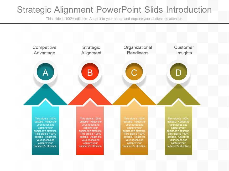 strategic alignment powerpoint slids introduction powerpoint slide