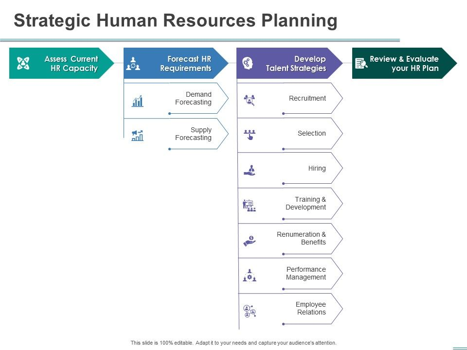 Strategic Human Resources Planning Capacity Powerpoint Presentation Graphic Tips