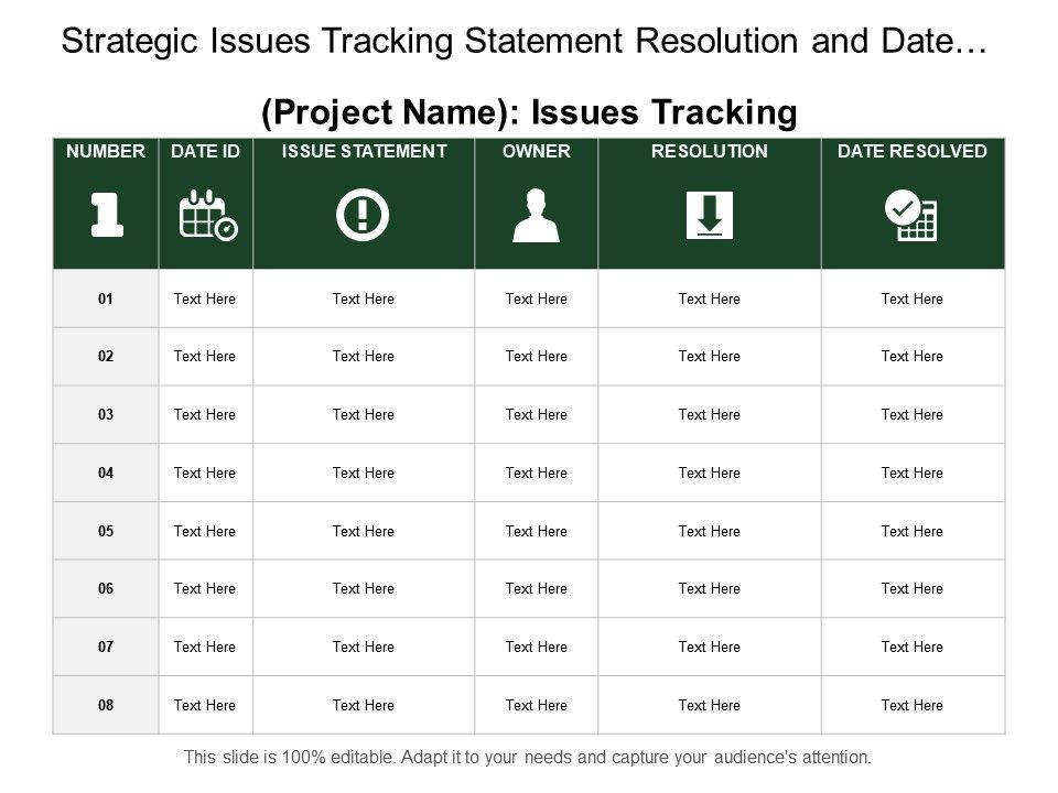 strategic_issues_tracking_statement_resolution_and_date_resolved_Slide01