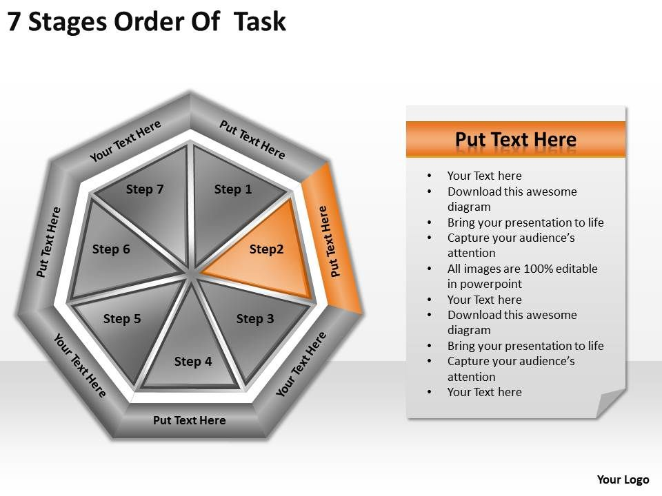 task order management plan template - professional strategy presentation showing strategic