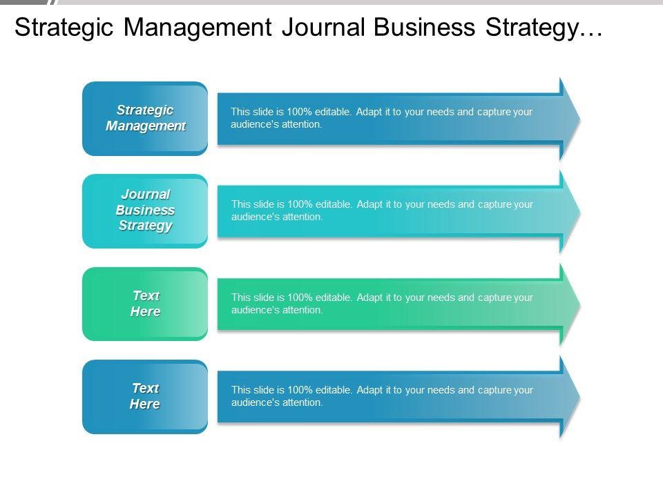 strategic_management_journal_business_strategy_strategic_management_leadership_cpb_Slide01