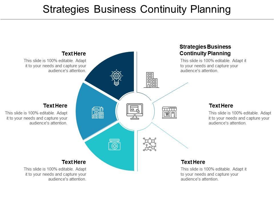 Strategies Business Continuity Planning Ppt Powerpoint
