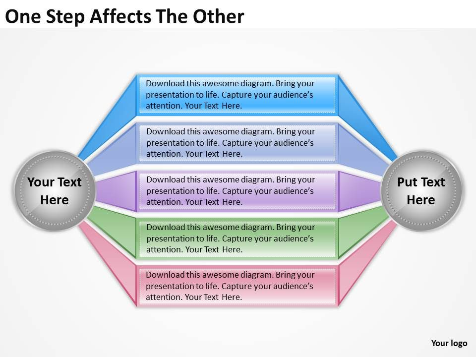 strategy_consultant_one_step_affects_the_other_powerpoint_templates_ppt_backgrounds_for_slides_Slide01