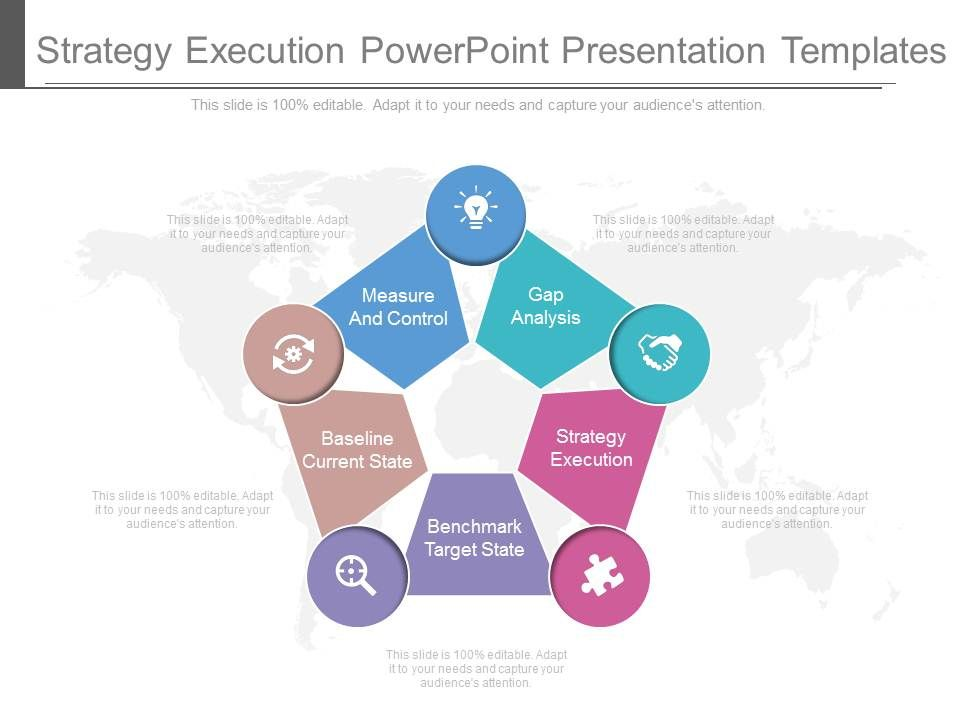 strategy execution powerpoint presentation templates | powerpoint, Powerpoint templates