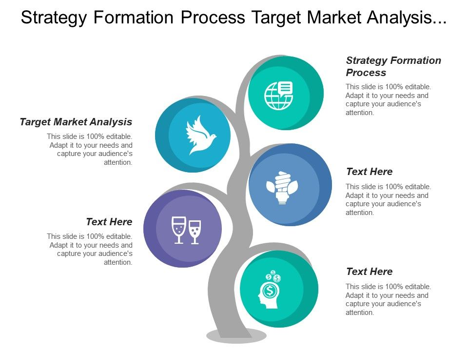 strategy formation process target market analysis competitive analysis