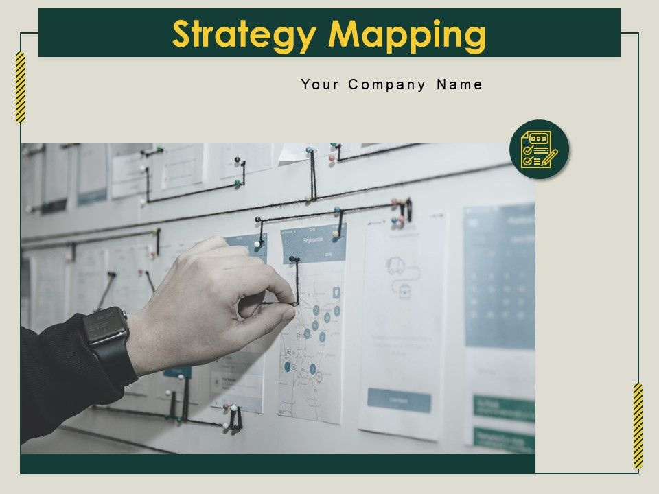 Strategy Mapping Powerpoint Presentation Slides