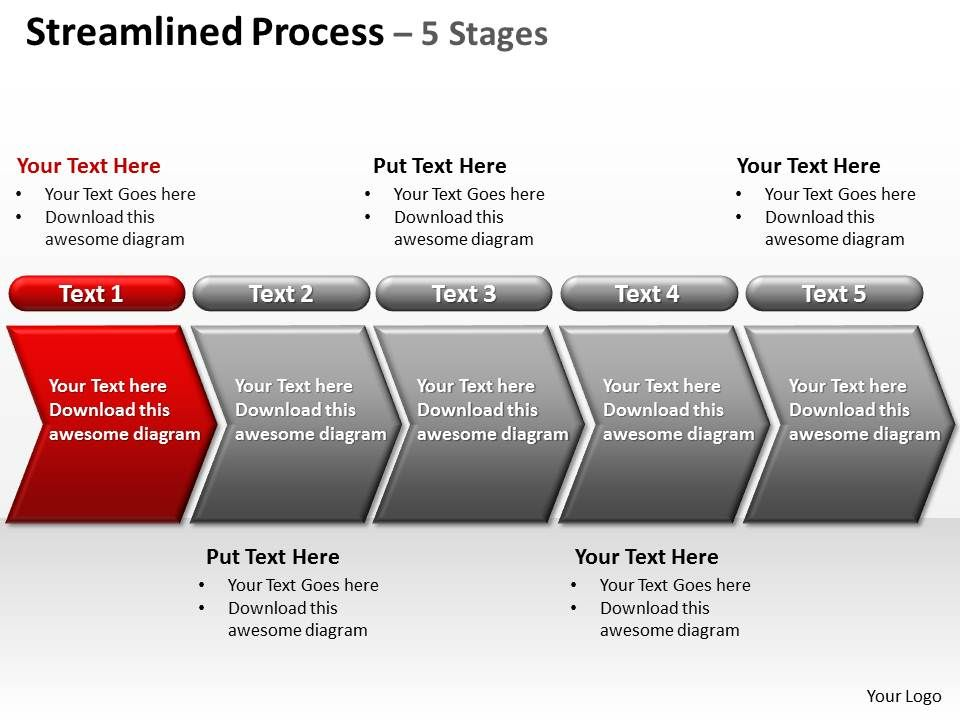 streamlined_process_5_stages_powerpoint_diagrams_presentation_slides_graphics_0912_Slide02