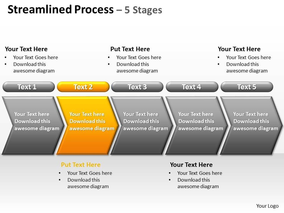 streamlined_process_5_stages_powerpoint_diagrams_presentation_slides_graphics_0912_Slide03