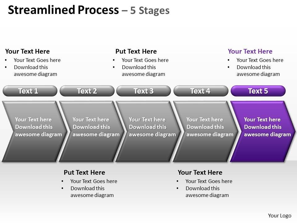 streamlined_process_5_stages_powerpoint_diagrams_presentation_slides_graphics_0912_Slide06
