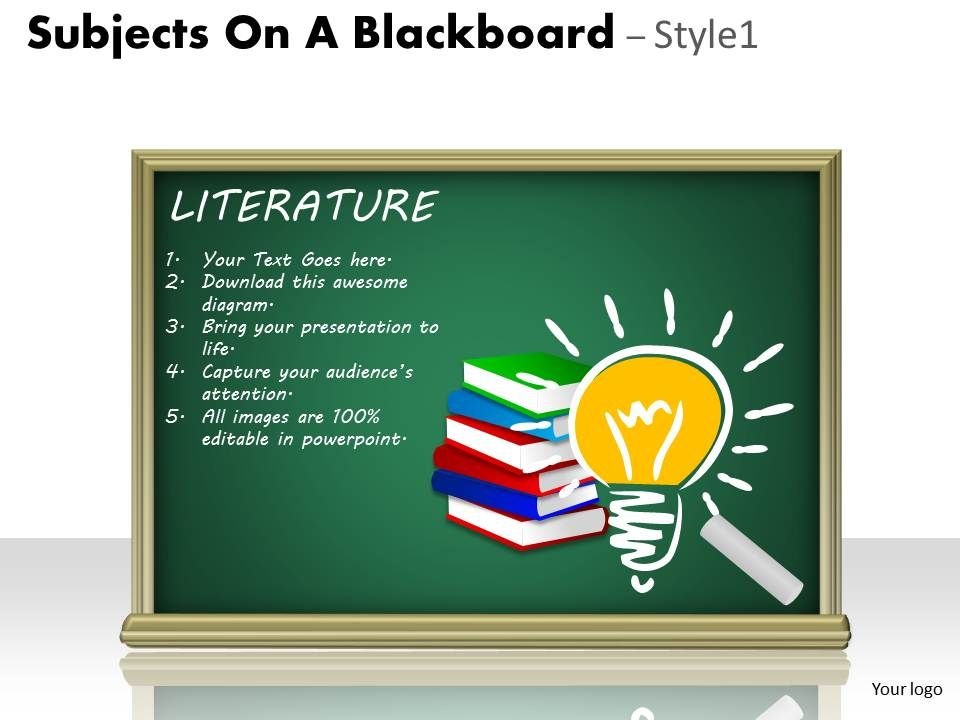 1528704 style variety 3 blackboard 1 piece powerpoint presentation