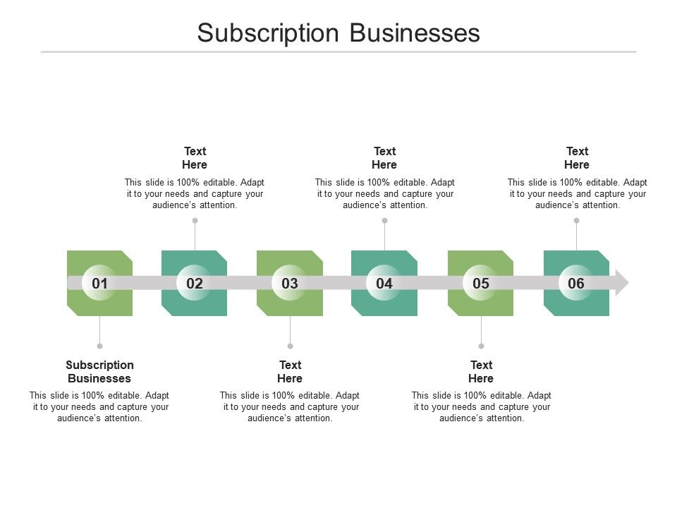 Subscription Businesses Ppt Powerpoint Presentation File Tips Cpb