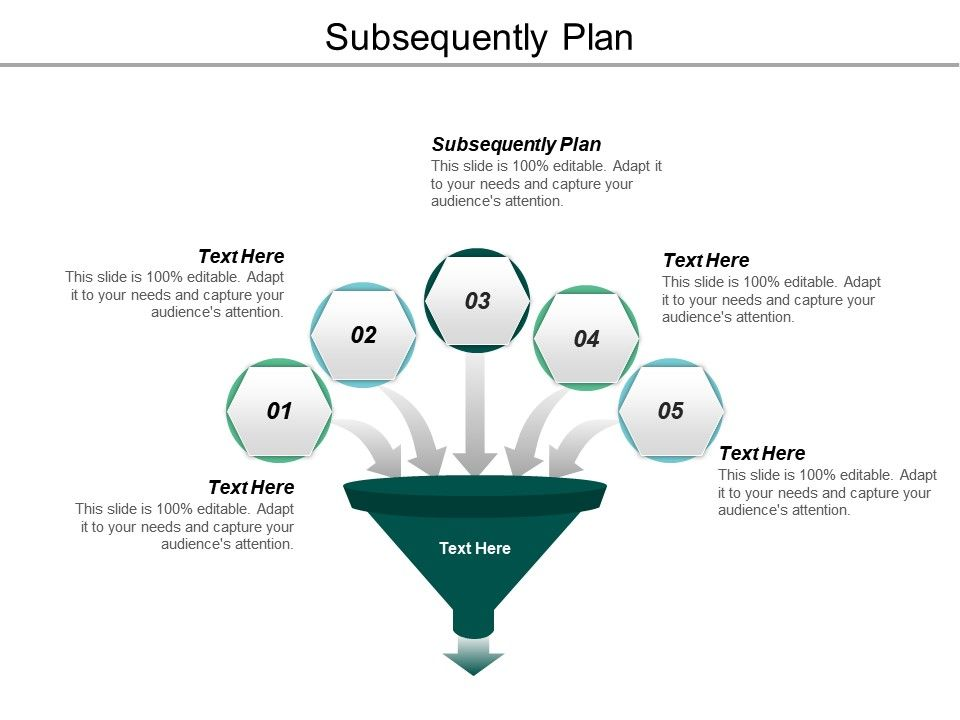 Subsequently Plan Ppt Powerpoint Presentation Ideas Example