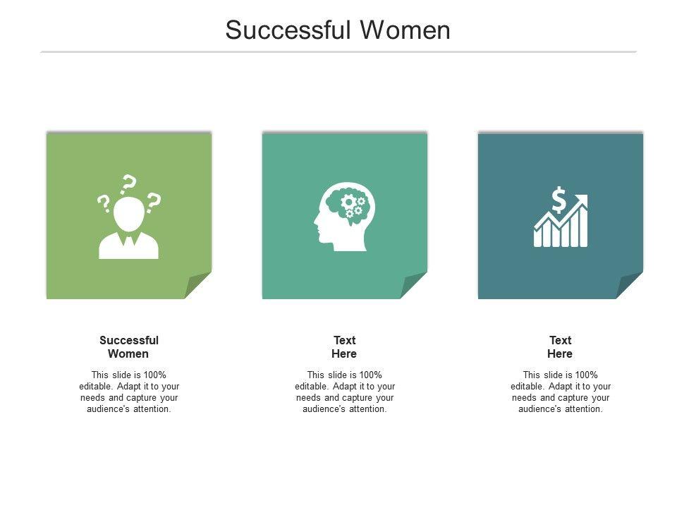 Successful Women Ppt Powerpoint Presentation Styles Maker Cpb
