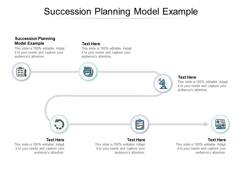 Succession Planning Model Example Ppt Powerpoint Presentation Slides Vector Cpb