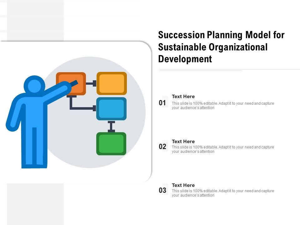 Succession Planning Model For Sustainable Organizational Development