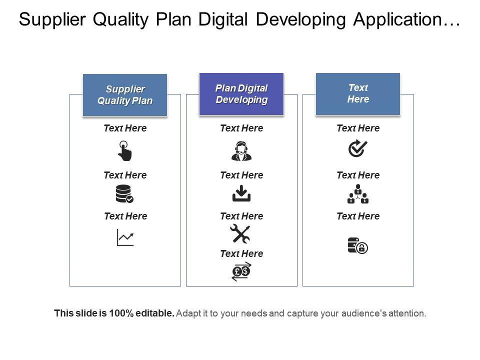 supplier quality plan digital developing application. Black Bedroom Furniture Sets. Home Design Ideas