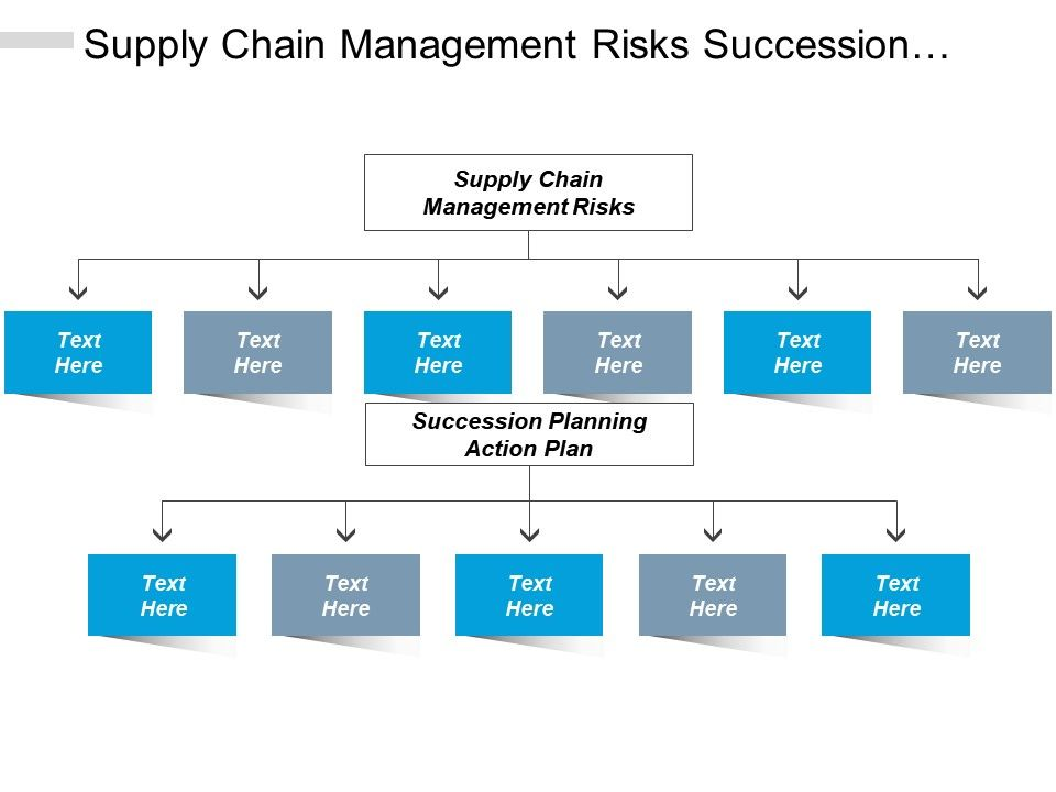 Supply Chain Management Risks Succession Planning Action
