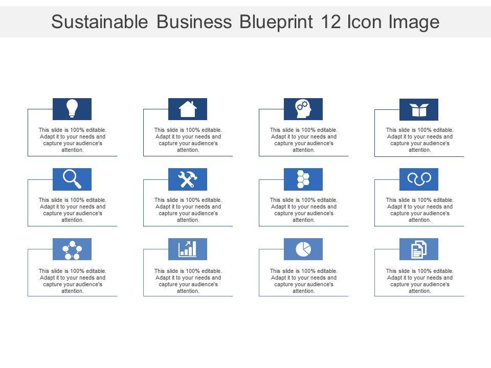 Sustainable business blueprint 12 icon image presentation sustainablebusinessblueprint12iconimageslide01 sustainablebusinessblueprint12iconimageslide02 malvernweather Choice Image