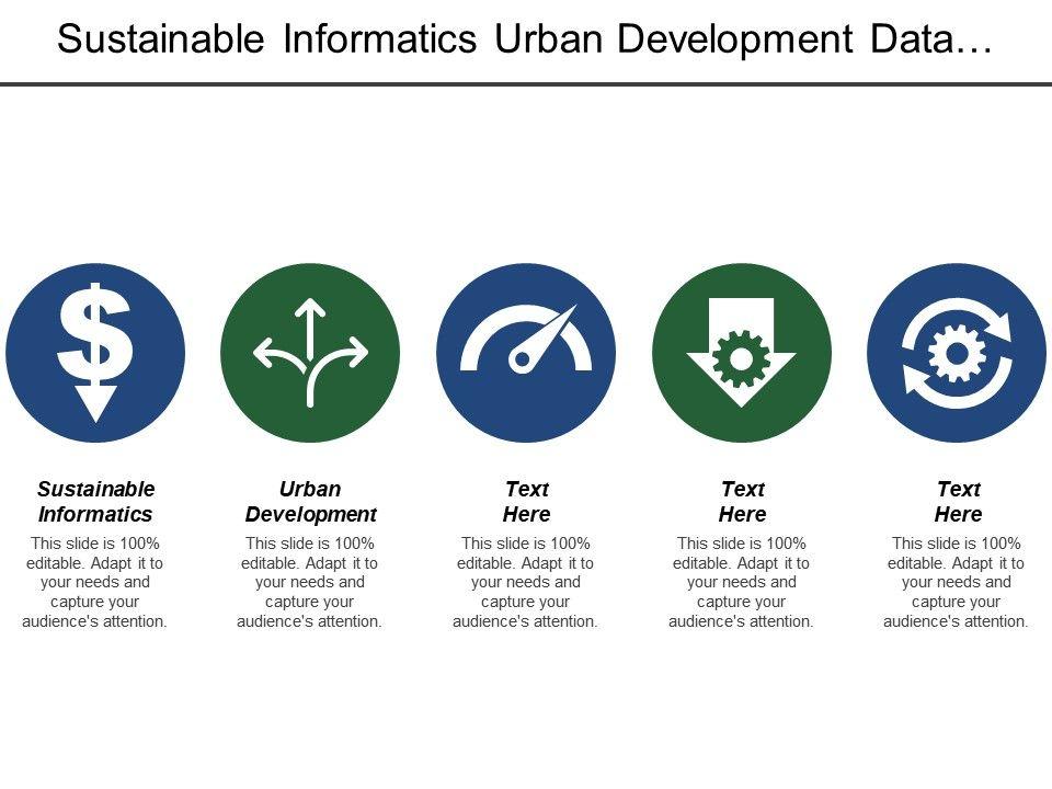Sustainable Informatics Urban Development Data Revolution