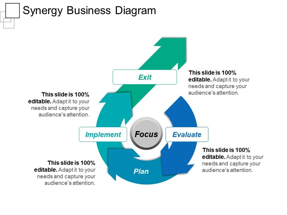 Synergy Business Diagram Ppt Sample Download