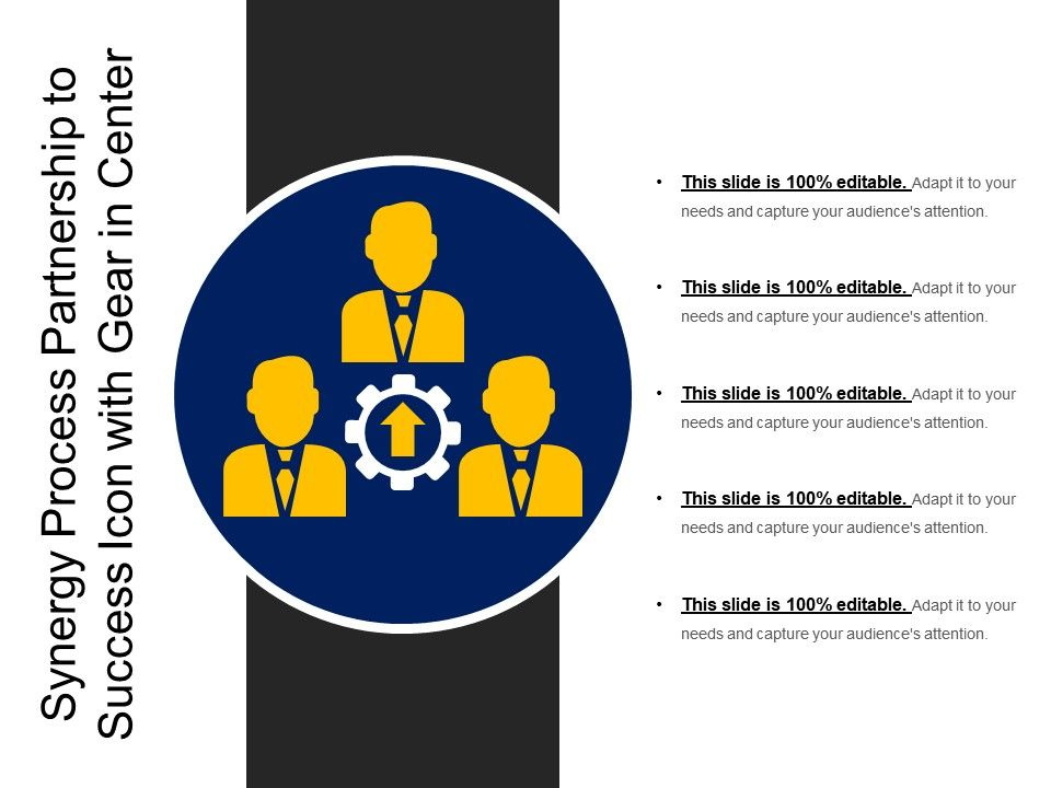 synergy_process_partnership_to_success_icon_with_gear_in_center_Slide01