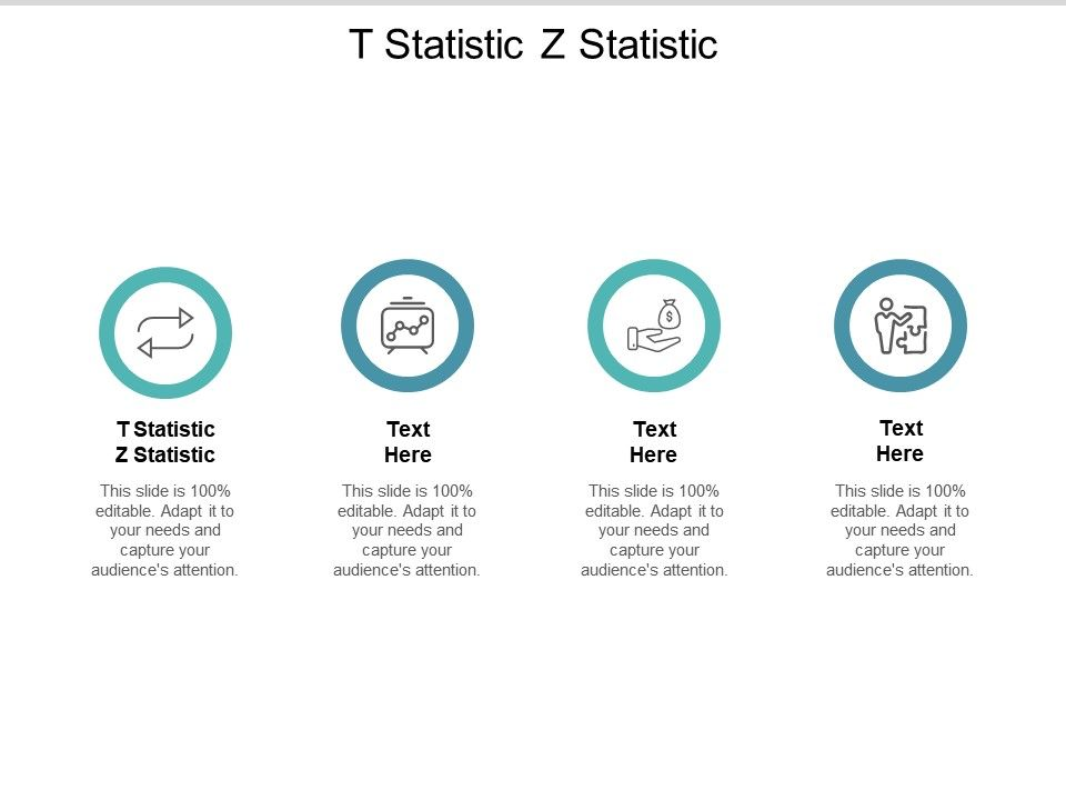T Statistic Z Statistic Ppt Powerpoint Presentation Pictures Model Cpb