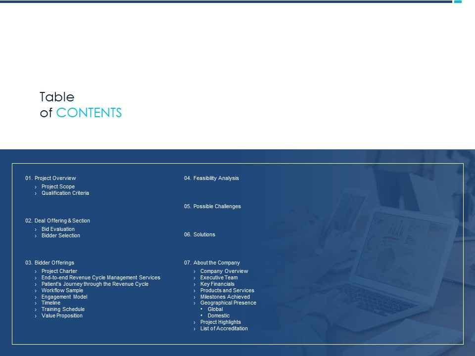 Table Of Contents Workflow M1228 Ppt Powerpoint Presentation Professional Pictures