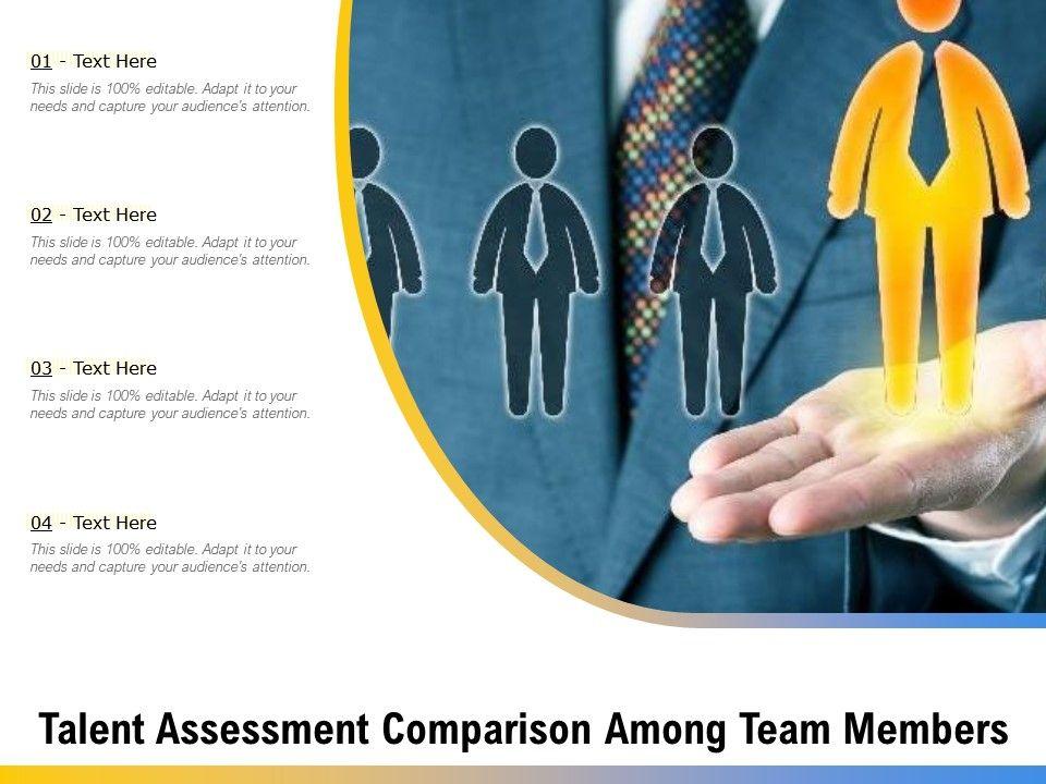 Talent Assessment Comparison Among Team Members