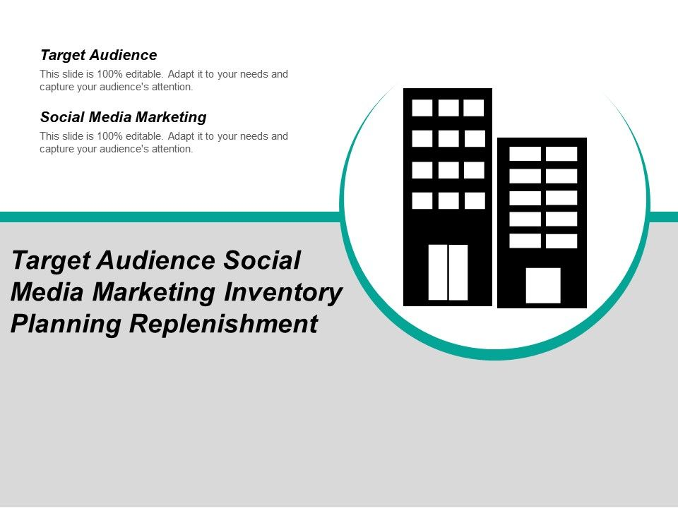 target_audience_social_media_marketing_inventory_planning_replenishment_Slide01