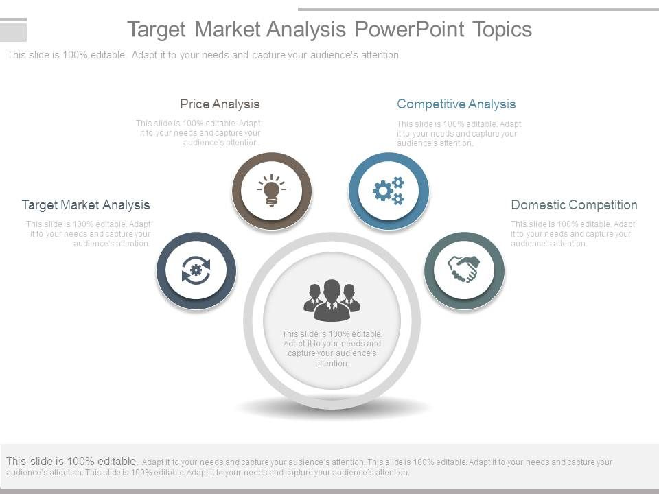 Target Market Analysis Powerpoint Topics  Presentation Powerpoint