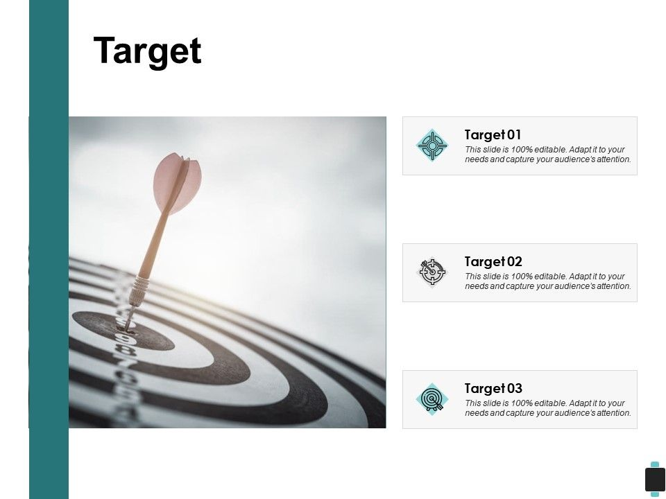 Target Three Arrow C208 Ppt Powerpoint Presentation Outline