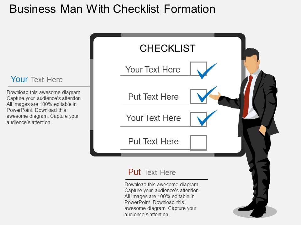 te_business_man_with_checklist_formation_flat_powerpoint_design_Slide01