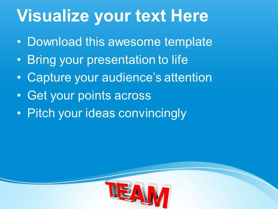 team concept business teamwork powerpoint templates ppt themes and, Modern powerpoint
