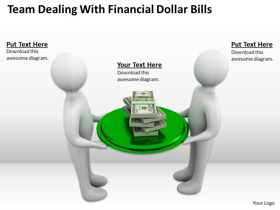 team_dealing_with_financial_dollar_bills_ppt_graphics_icons_powerpoint_Slide01