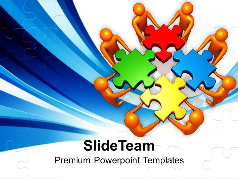Puzzle Pieces Powerpoint Templates Board Meeting And Jigsaw Ppt