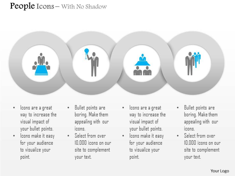 Team Meeting Leadership Management Editable Icons | PowerPoint Slide ...