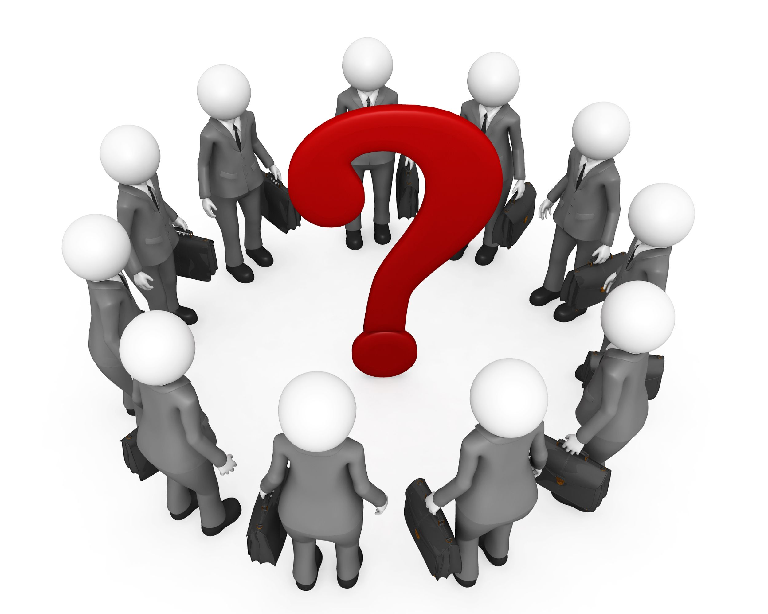 team_of_3d_men_with_question_mark_stock_photo_Slide01