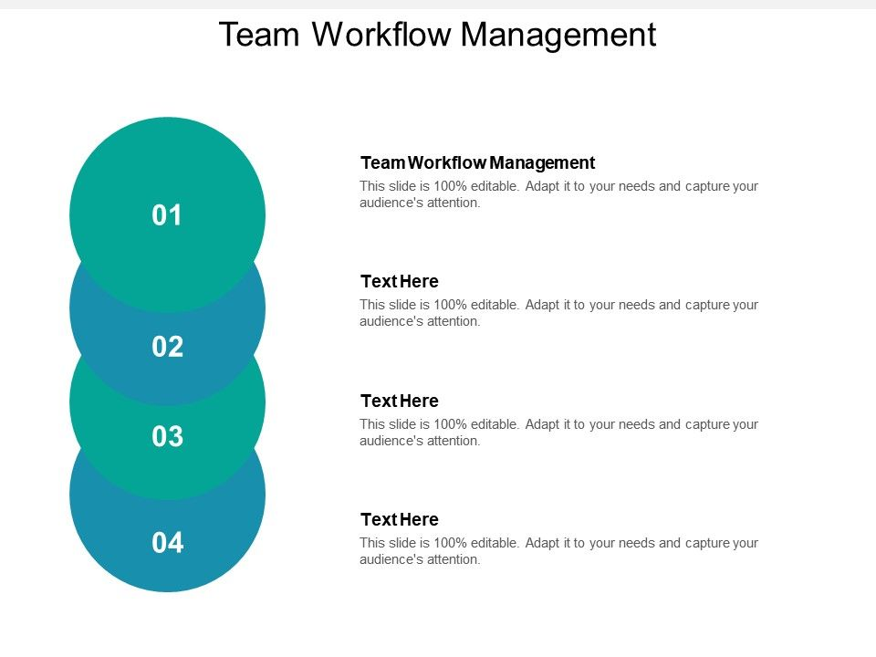 Team Workflow Management Ppt Powerpoint Presentation Styles Rules Cpb