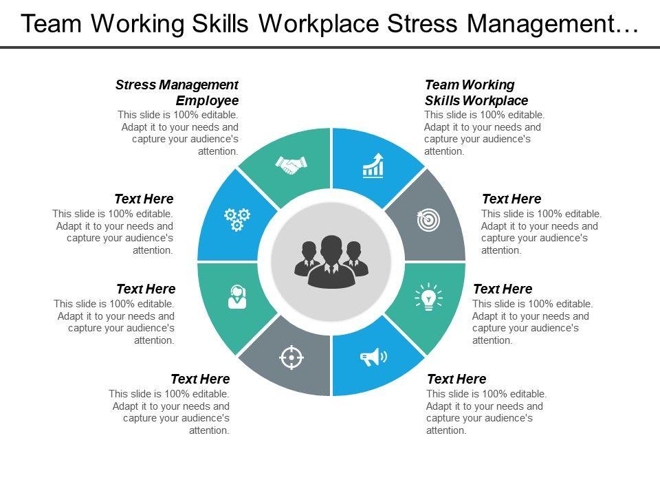 Team Working Skills Workplace Stress Management Employee ...