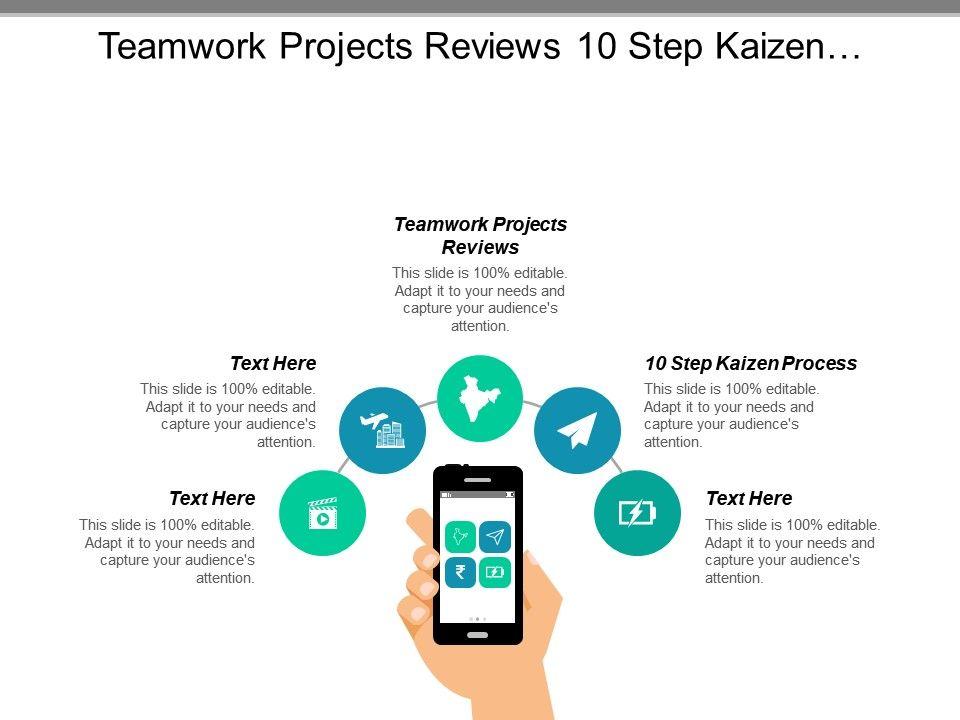teamwork_projects_reviews_10_step_kaizen_process_iteration_plan_cpb_Slide01