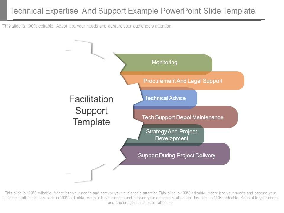 Technical Expertise And Support Example Powerpoint Slide Template ...