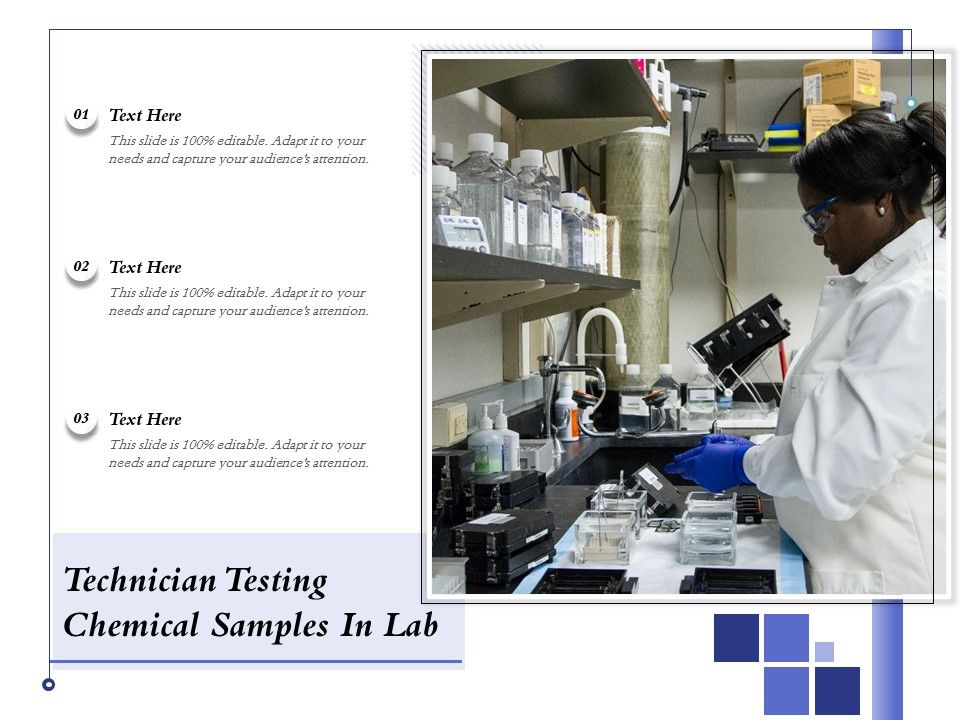 Technician Testing Chemical Samples In Lab